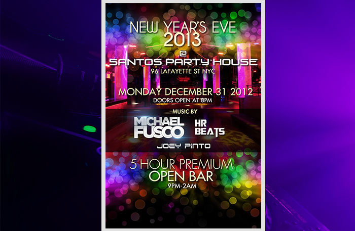 Ajna Bar New Years Eve New Years Eve 2013 at Santos